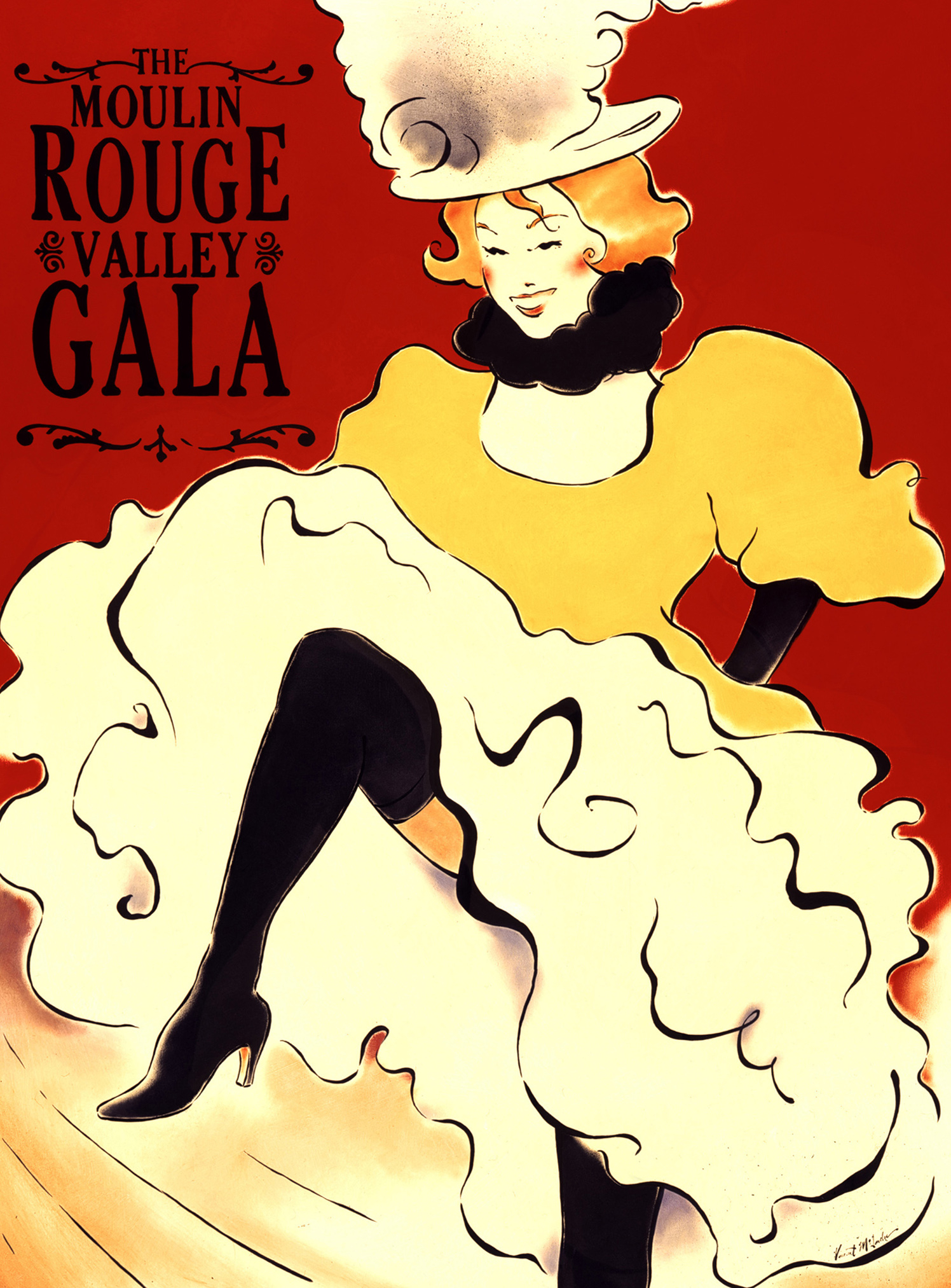 The Moulin Rouge Valley Gala