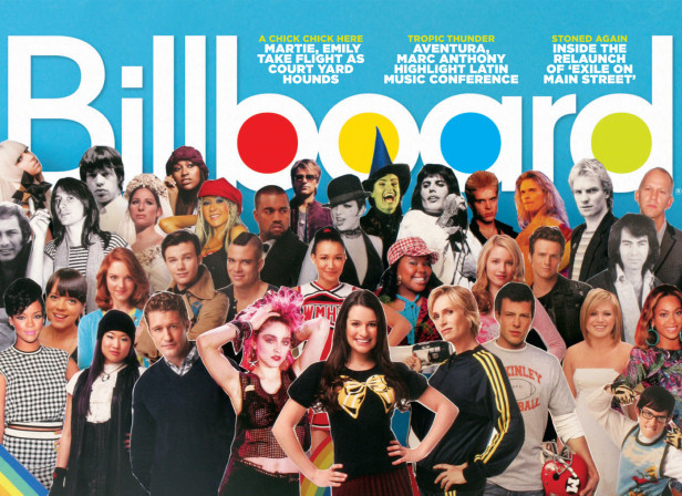 The Power Of Glee / Billboard Magazine