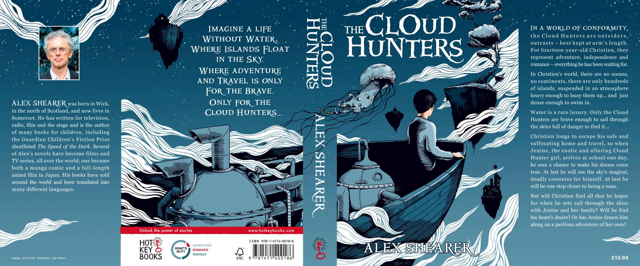 The Cloud Hunters Book Cover