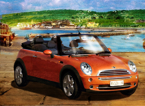 Mini Cabriolet Launch 5 / Ptarmigan