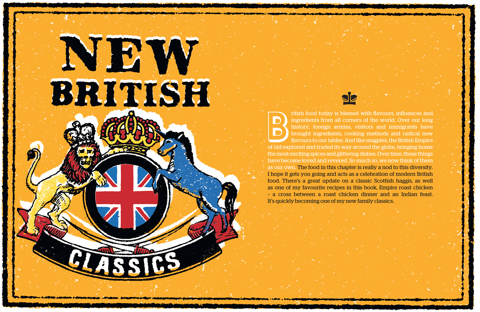 Jamie Oliver's New British Classics