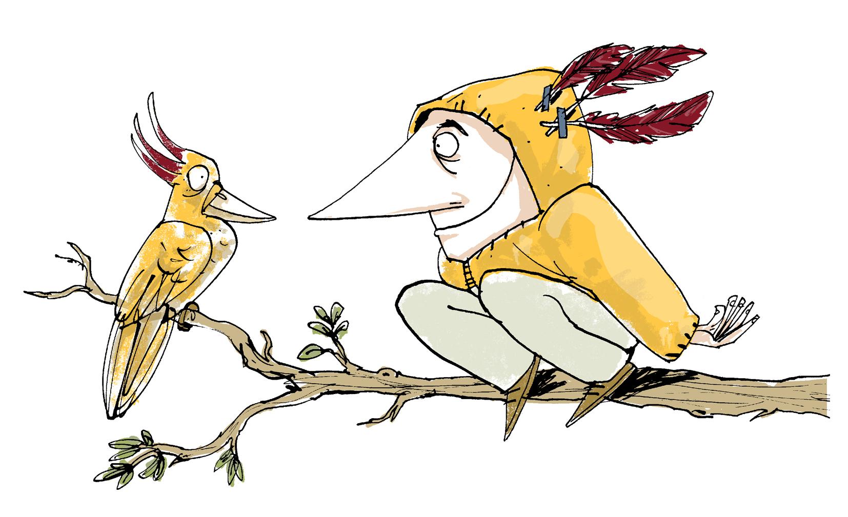 Twitchers Bird Watching