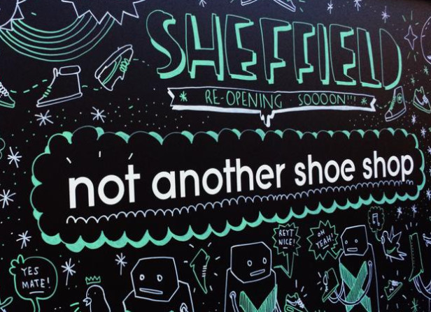 Opening Soon / Schuh Sheffield