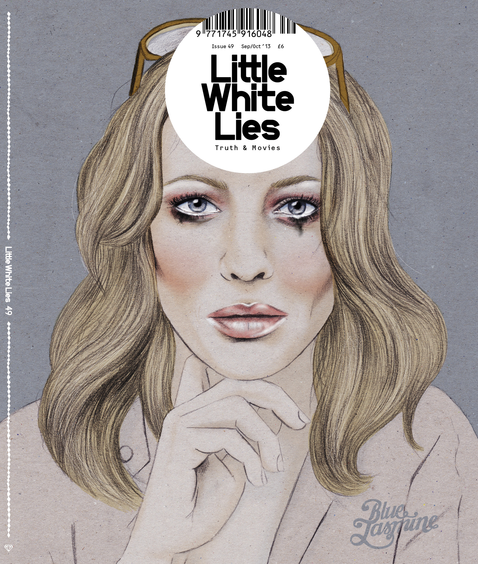 Little White Lies Magazine Cover Cate Blanchet Blue Jasmine