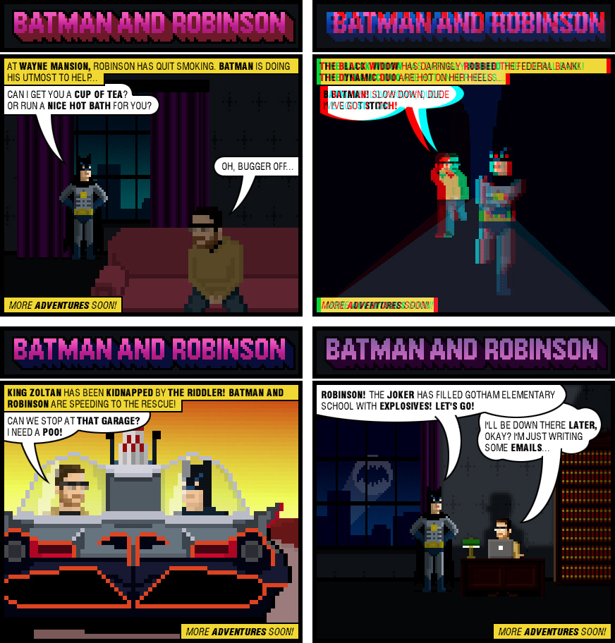 batman and robinson
