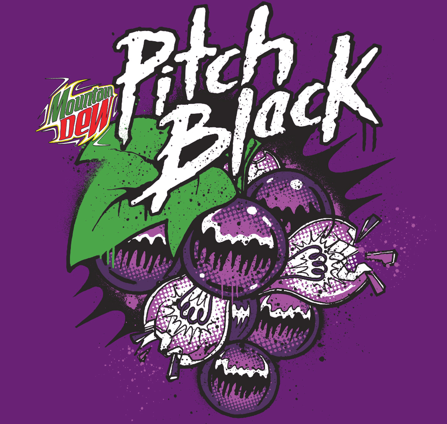 Pitch Black / Mountain Dew