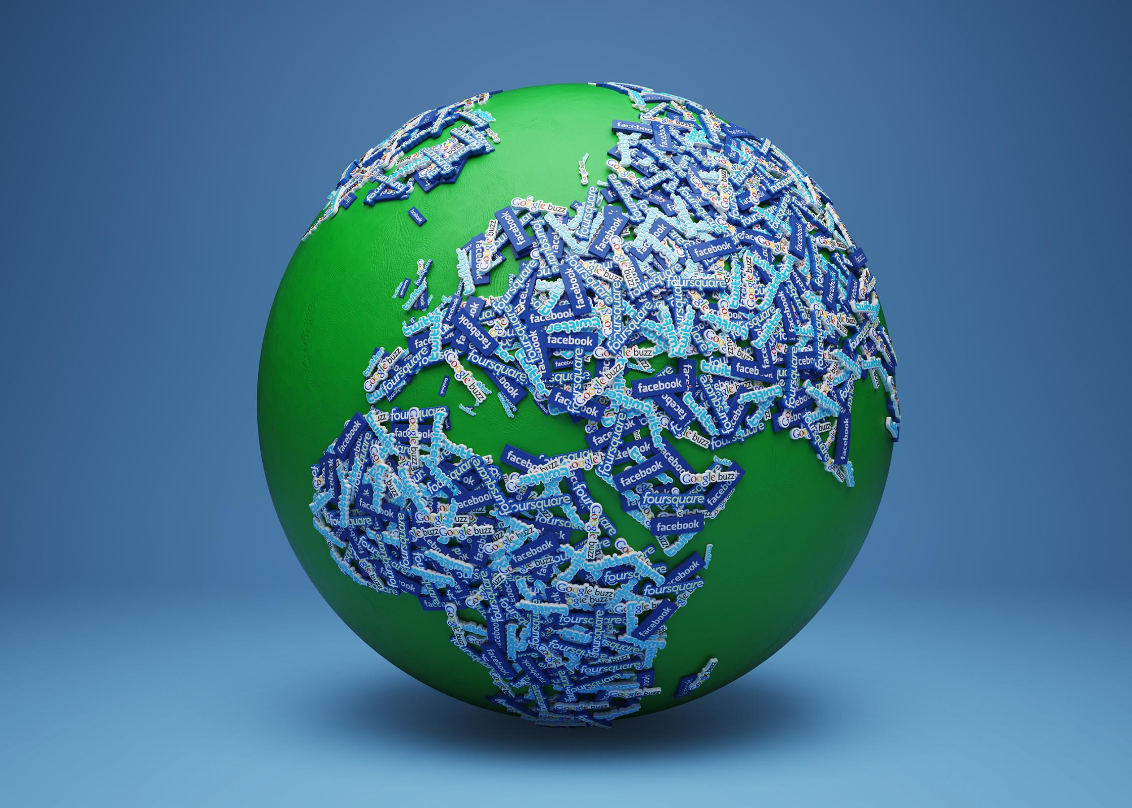 Social Globe Business Life