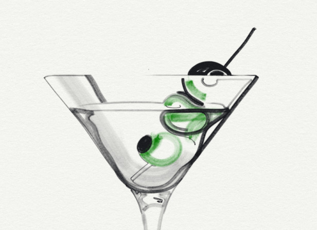6 of Clubs / A Real Martini
