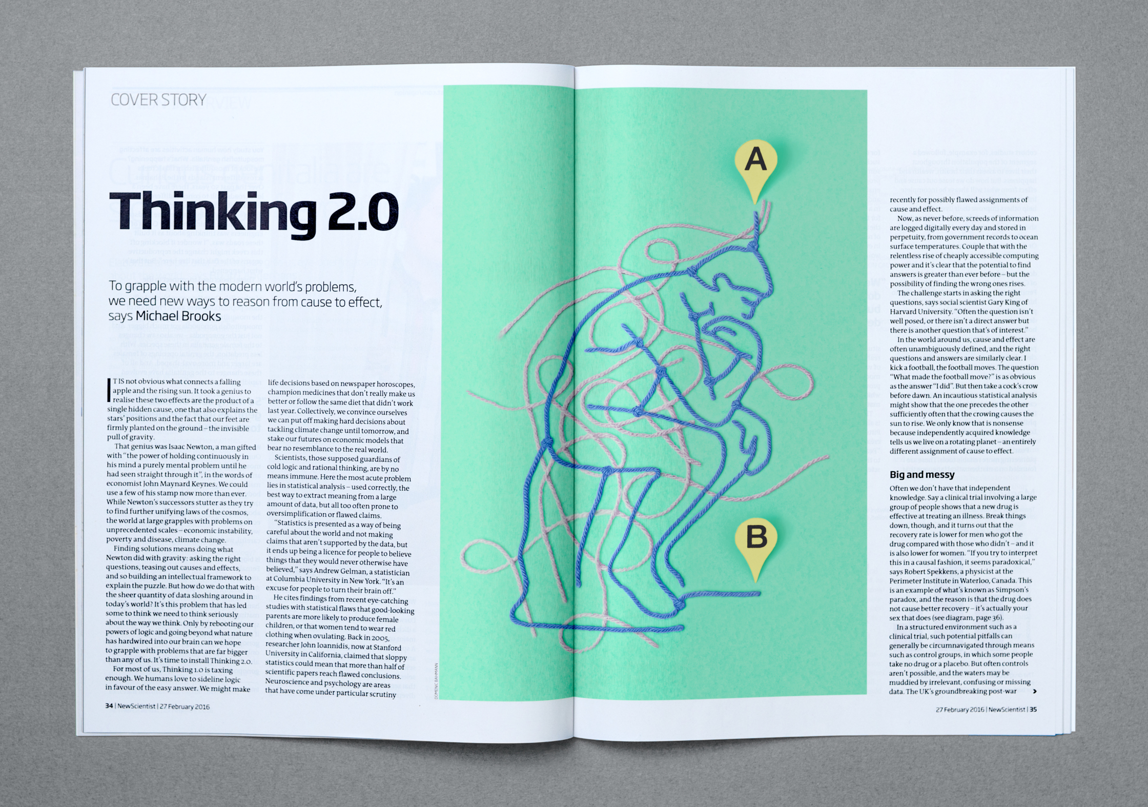 New Scientist Magazine 27 February 2016 issue - Thinking 20.jpg