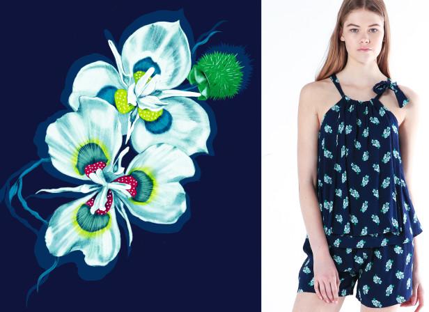 BLAK Resort 15-16 Floral Repeat