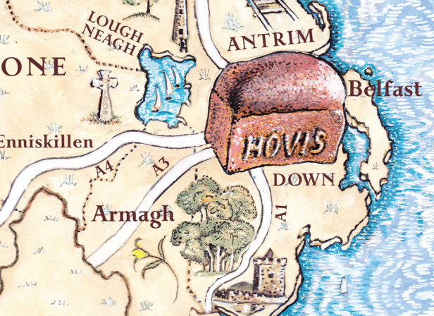 Hovis Map