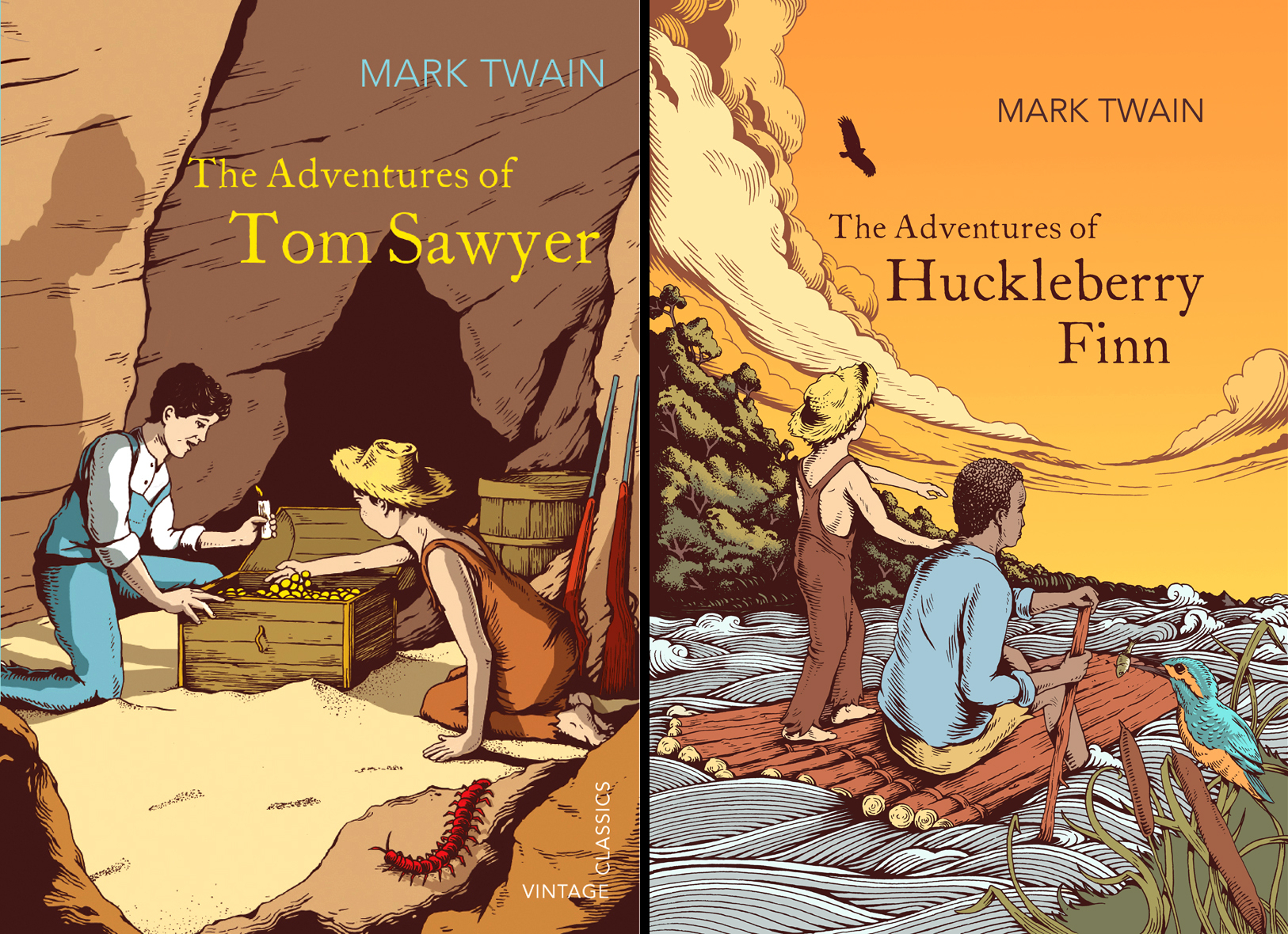 Mark Twain Book Covers