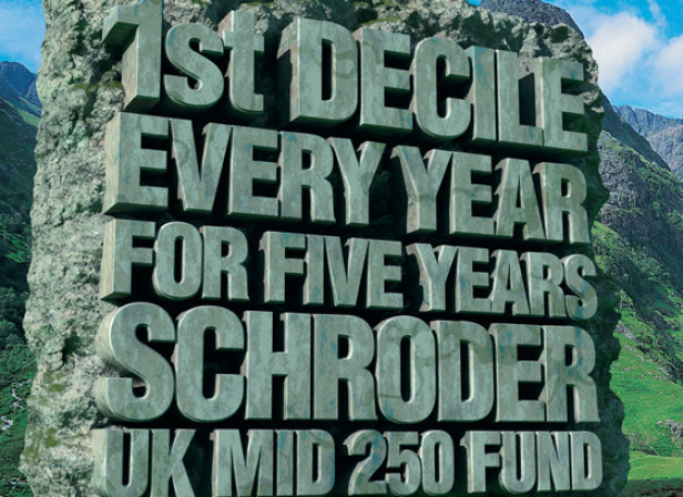 Schroder ISA Funds 48 Sheet Poster