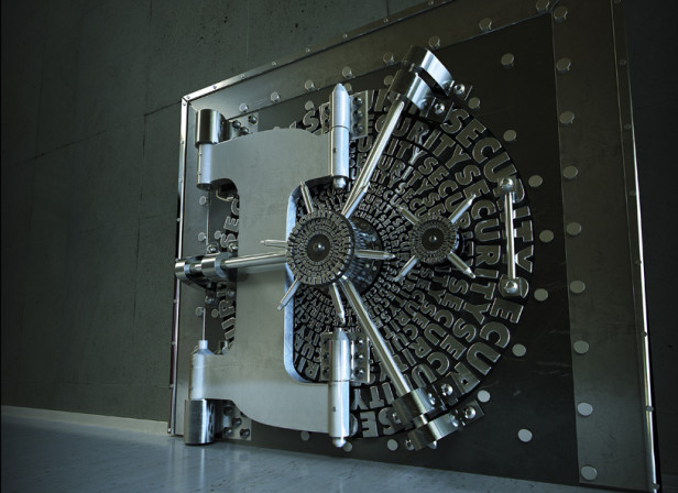 Security Cover Vault 3D Type IBM Magazine
