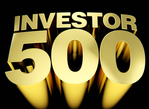 Cover Investor 500 3D Type Gold Canadian Business Magazine