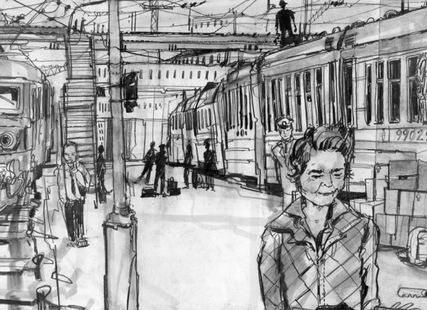 Dervla Murphy Transiberian- Journey The Telegraph