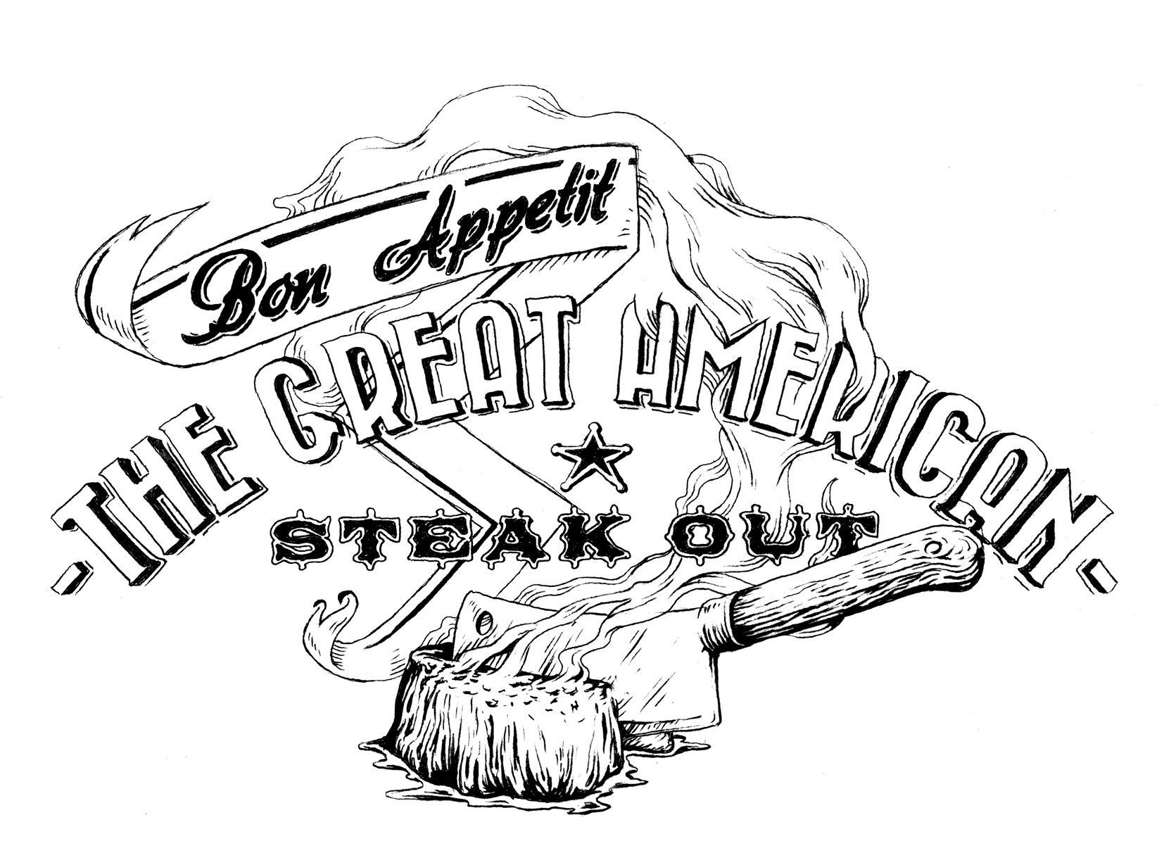 The Great American Steak Out