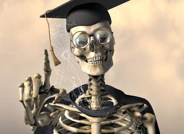 Skeleton Teacher