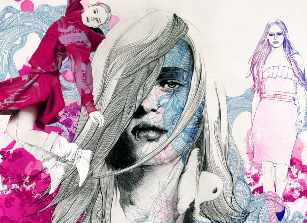 H Magazine Fashion Girl