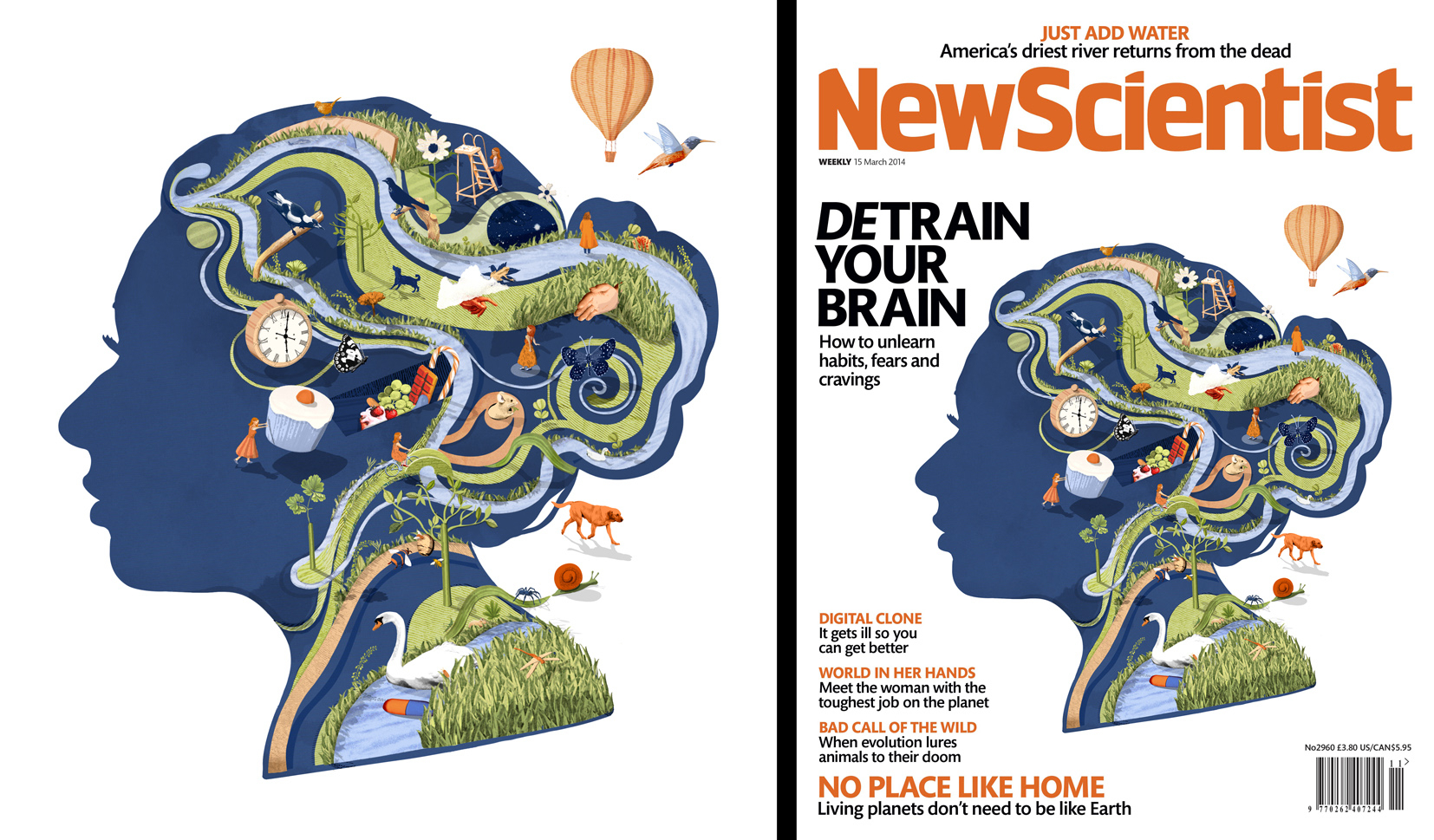 Detrain You Brain / New Scientist