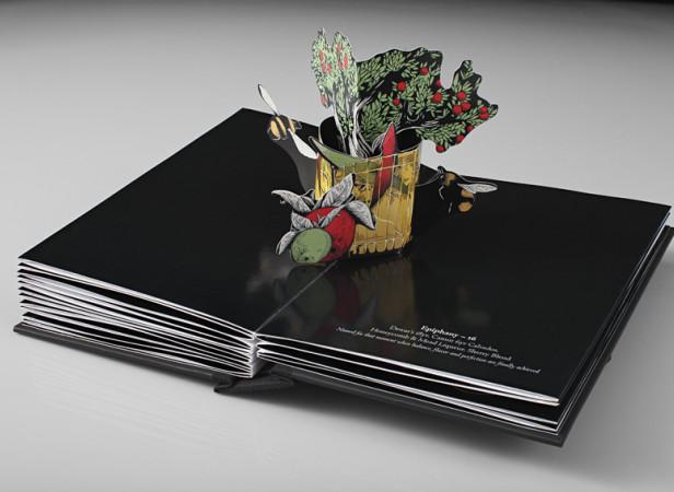 Savoy Menu / Helen Friel Collaboration 1
