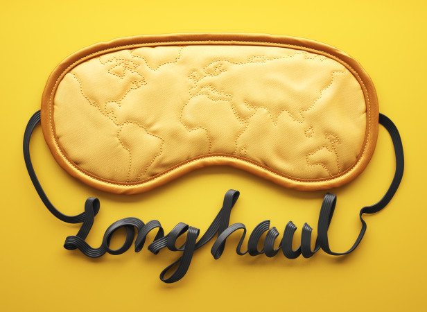 Gulf Airlines Magazine Long Haul Typography