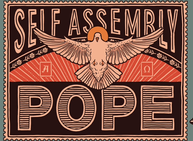 Self Assembly Pope Brew Dog Beer