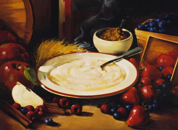 Cream of Wheat Porridge Fruit