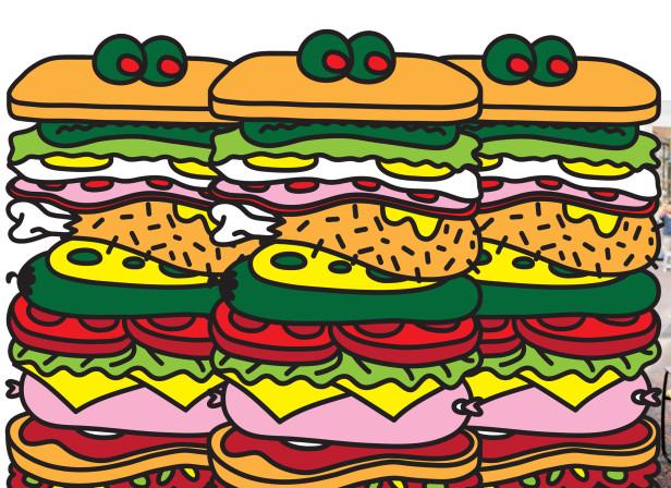 Jumbo Sandwich