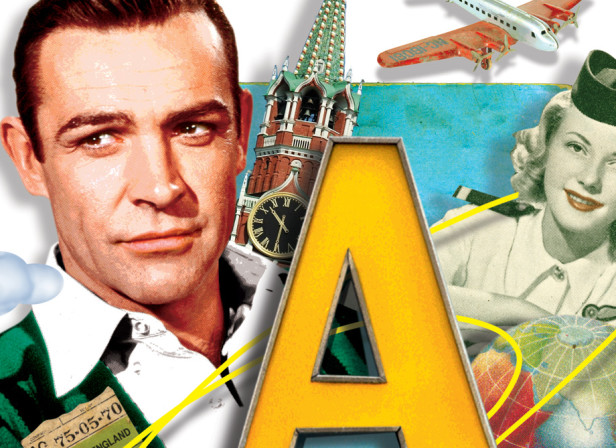 A-Z of James Bond, A is for Aircraft, LIVE magazine / The Mail