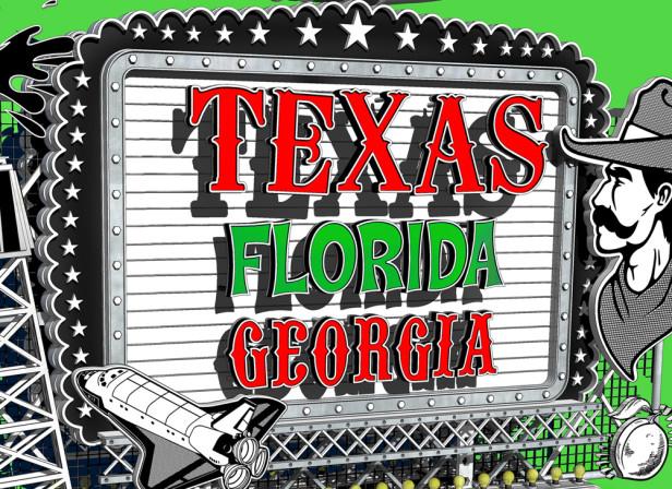 Texas, Florida and Georgia / Springboard Magazine