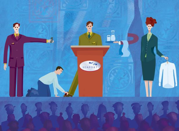 Speech Brochure / Seaport Hotel Boston
