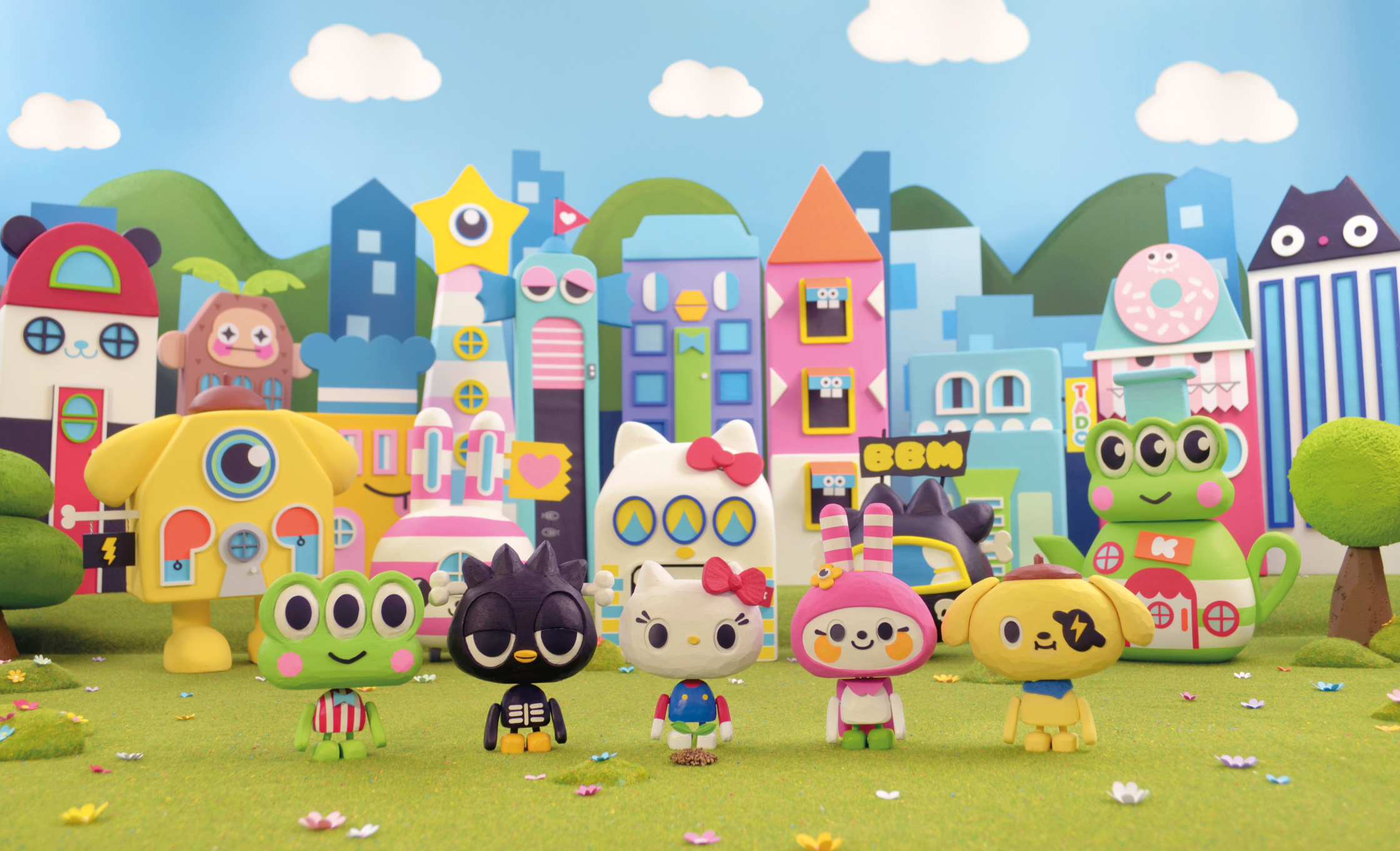 Hello Kitty Animation Set