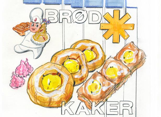 Norsk Bakeri Advert