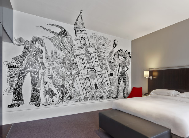 Andaz Hotel Mural