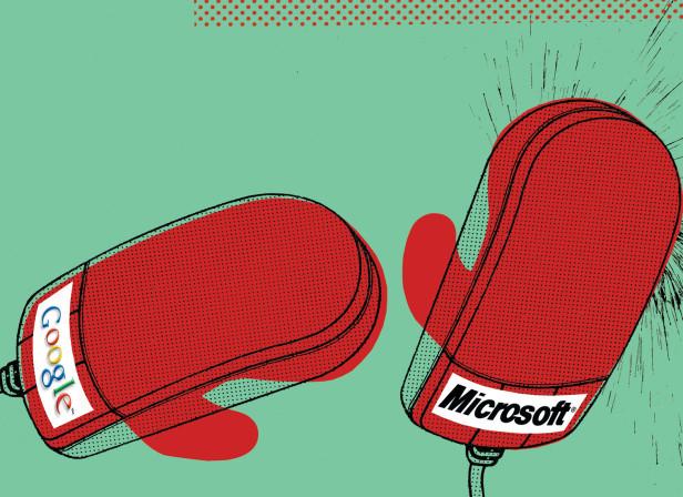 Google Versus Microsoft New Scientist