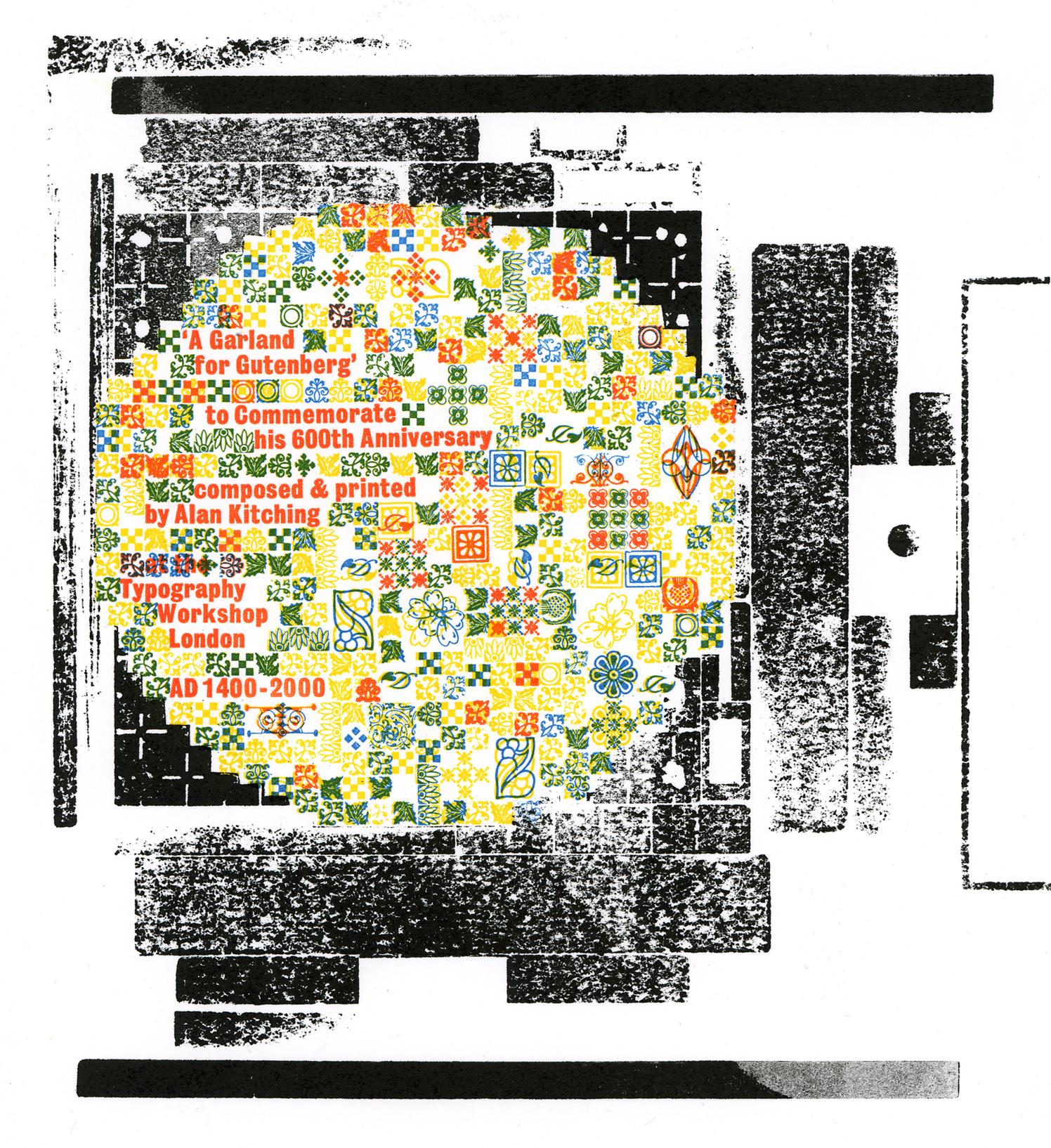 A Garland for Gutenberg