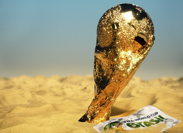 FIFA Trophy World Cup Brasil Sandunes Cover New Statesman