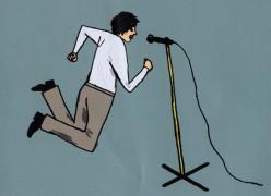Pars A Singer And He Sings Songs