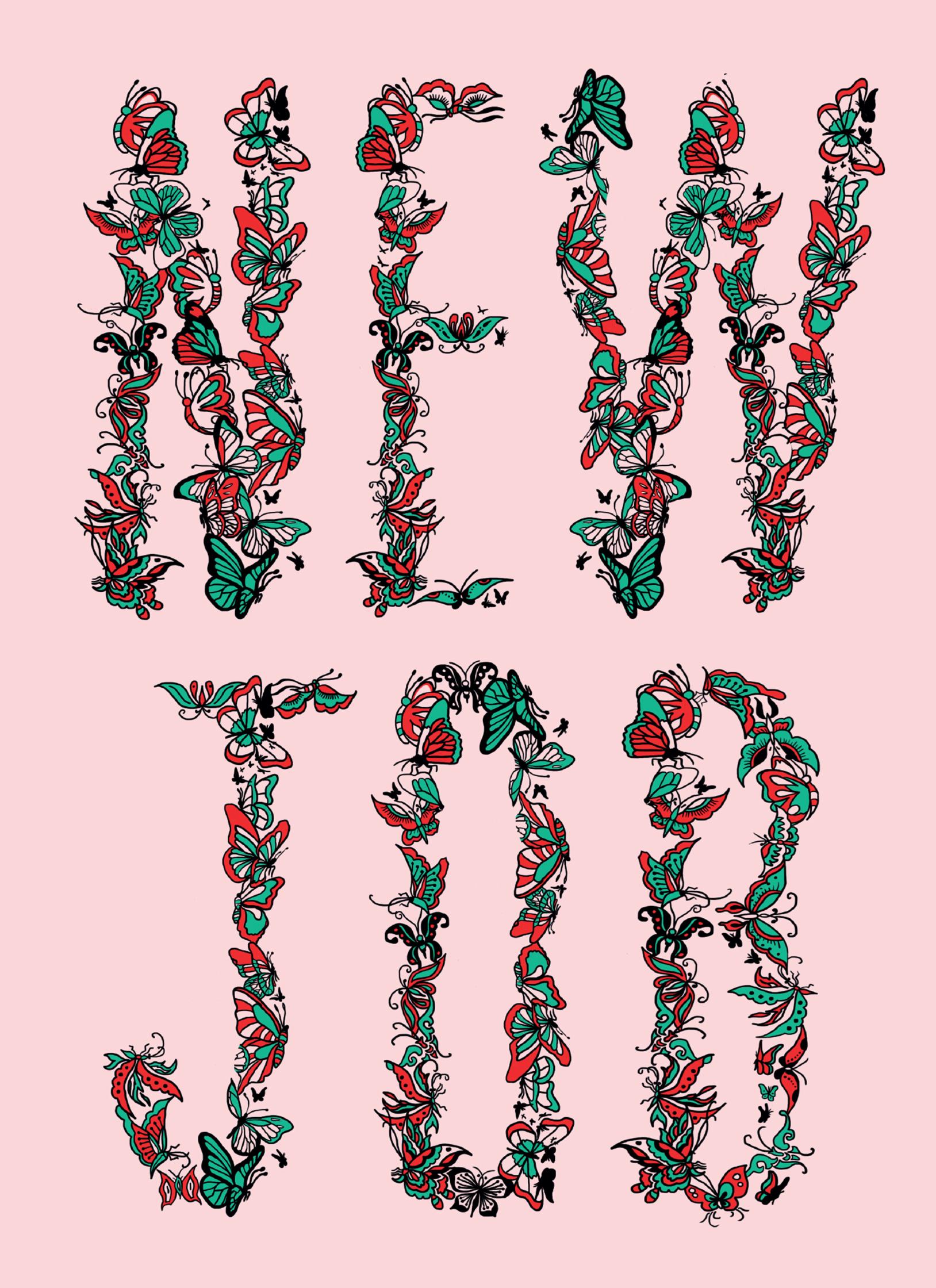 New job greeting card scribbler sharm murugiah debut art new job greeting card scribbler m4hsunfo