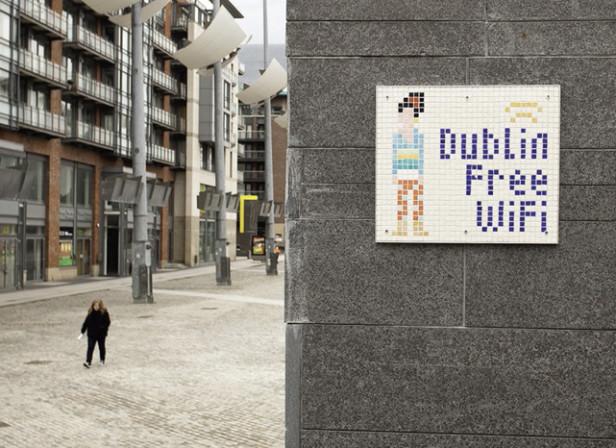 Dublin Free Wifi Mosaic