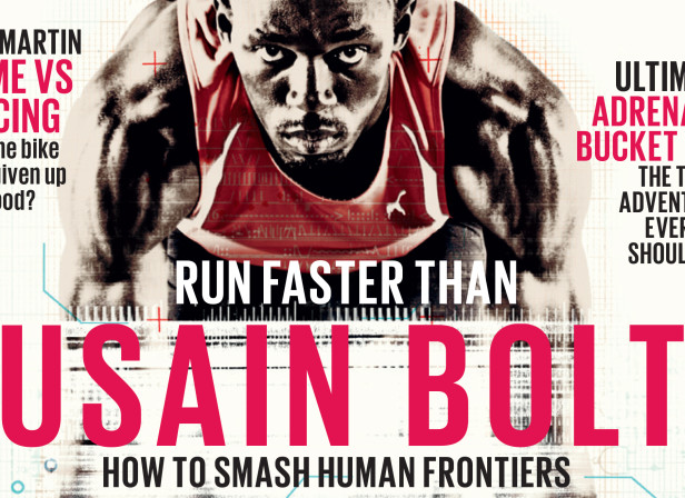 Run Faster Than Usain Bolt /  The Red Bulletin