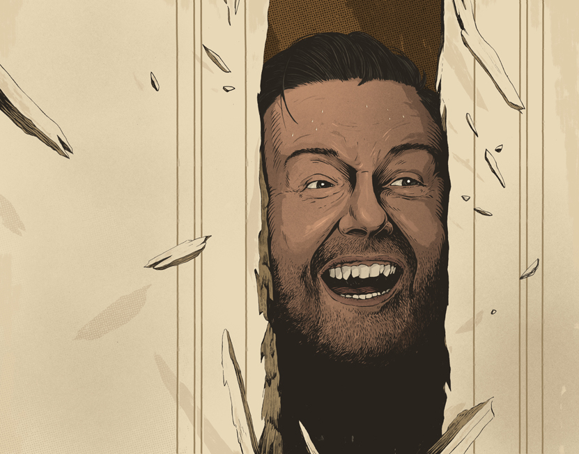 Ricky Gervais / Variety Magazine