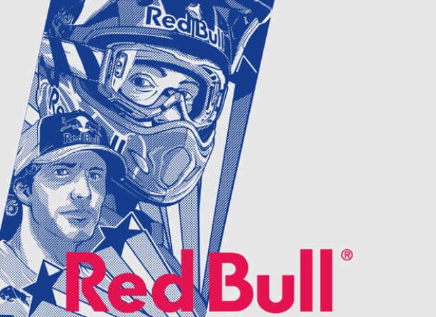 Red Bull Travis Pastrana Can Design