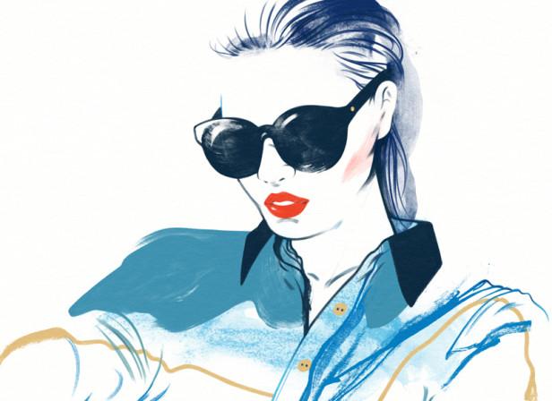Pacific Fair Mall / Fashion Illustration