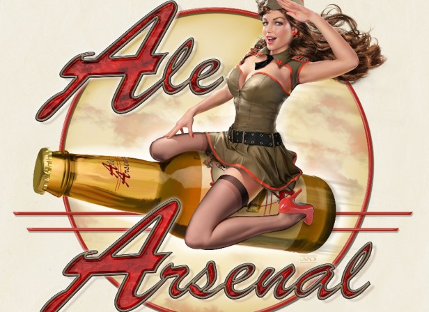Ale Arsenal Pin-Up