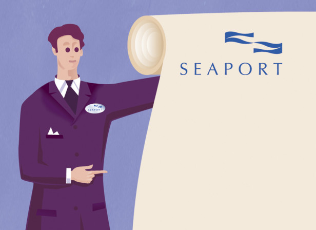 General Sign Brochure / Seaport Hotel Boston