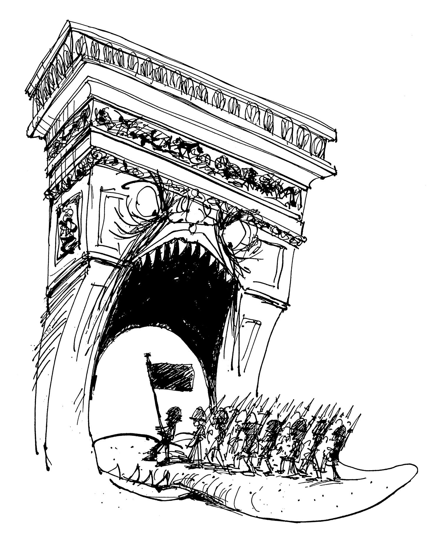 Triumphal Arch Anti War