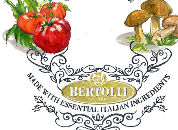 Parma Tomatoes Mushrooms Pasta Sauce Mother Advert Bertolli