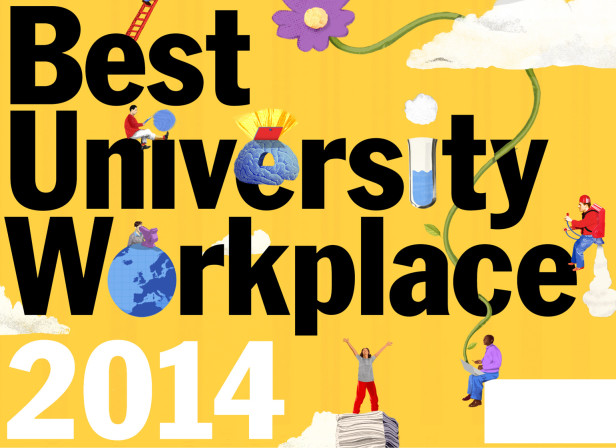 The Best University Work Place / Times Higher Education